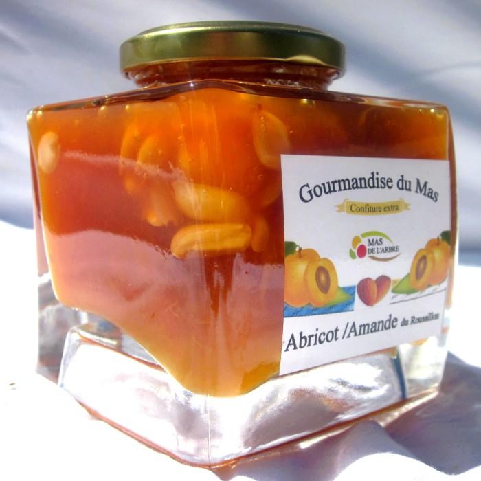 carré abricot amande